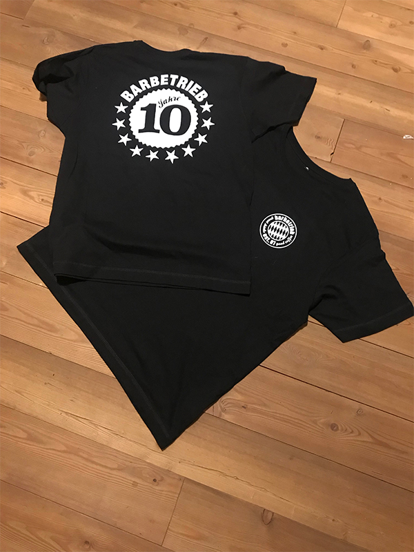 T-Shirt – Barbetrieb
